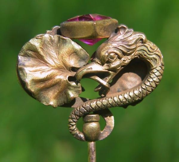 Мечта Шапокляк - шляпная булавка. (Фото 10)