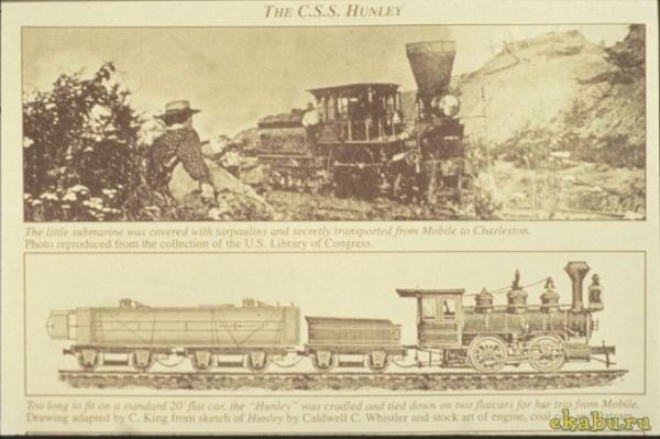 Подводная лодка времен Гражданской войны Севера и Юга (Фото 5)