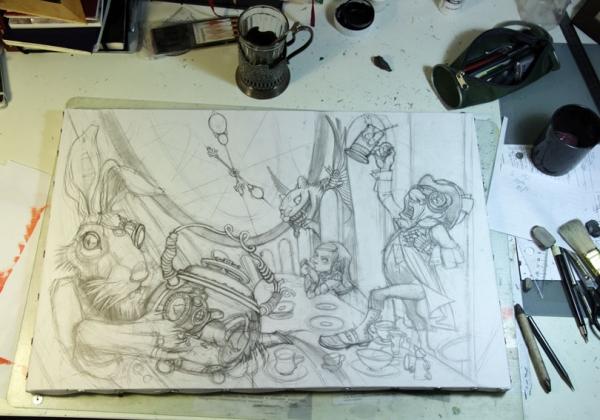 Краткая история моего безумия или как я рисую  для конкурсов и удовольствия. Part 1 (Фото 5)