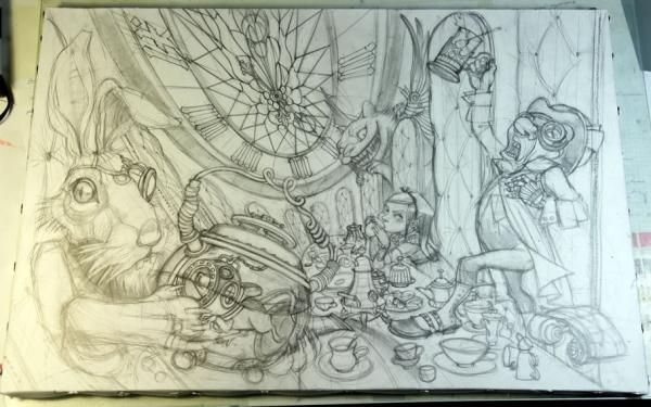 Краткая история моего безумия или как я рисую  для конкурсов и удовольствия. Part 1 (Фото 7)