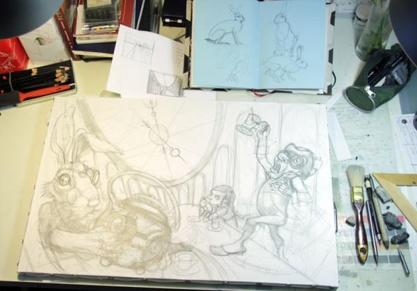 Краткая история моего безумия или как я рисую  для конкурсов и удовольствия. Part 1 (Фото 4)
