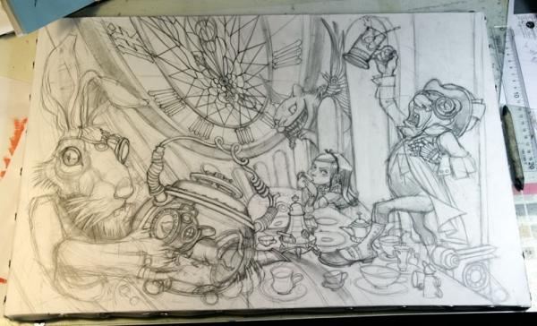 Краткая история моего безумия или как я рисую  для конкурсов и удовольствия. Part 1 (Фото 6)