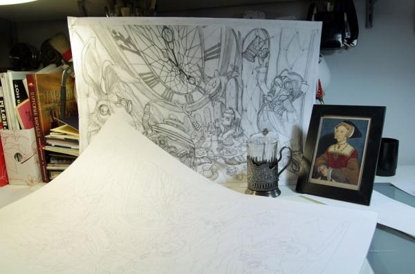 Краткая история моего безумия или как я рисую  для конкурсов и удовольствия. Part 1 (Фото 19)
