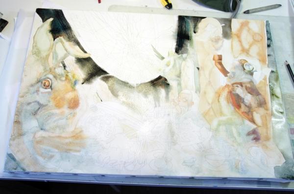 Краткая история моего безумия или как я рисую  для конкурсов и удовольствия. Part 2 (Фото 10)