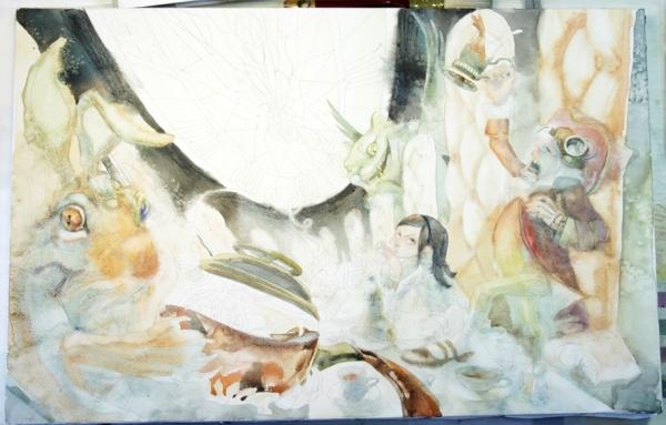 Краткая история моего безумия или как я рисую  для конкурсов и удовольствия. Part 2 (Фото 14)