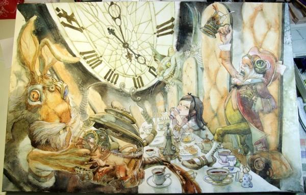 Краткая история моего безумия или как я рисую  для конкурсов и удовольствия. Part 2 (Фото 18)