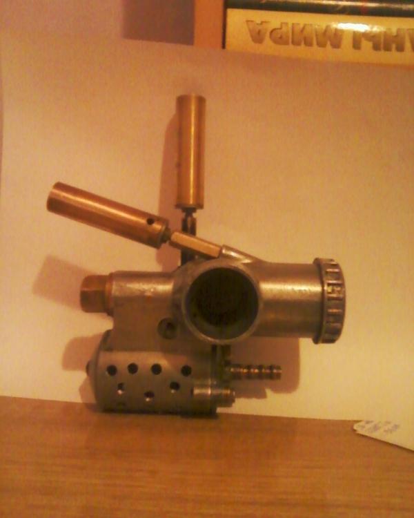 USB светильник из карбюратора К-37 . №1 (Фото 3)