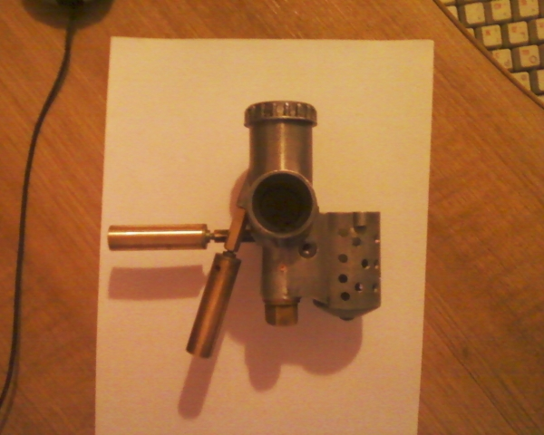 USB светильник из карбюратора К-37 . №1 (Фото 2)