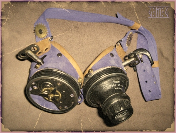 Гогглы steampunk (ver. 2) (Фото 2)