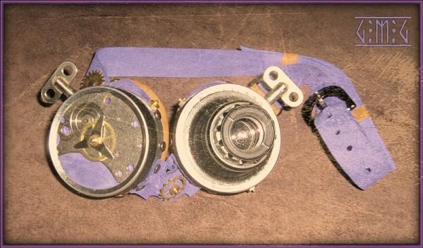Гогглы steampunk (ver. 2) (Фото 3)