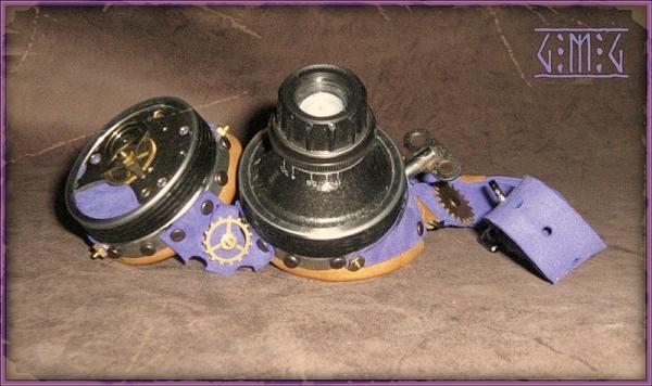 Гогглы steampunk (ver. 2) (Фото 4)