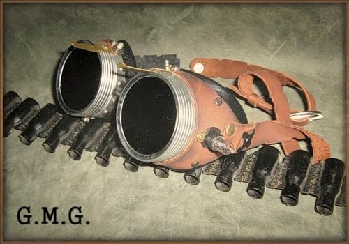 Гогглы steampunk (ver. 3)