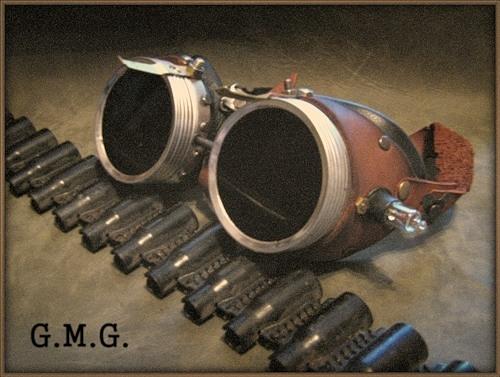 Гогглы steampunk (ver. 3) (Фото 4)