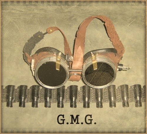 Гогглы steampunk (ver. 3) (Фото 3)