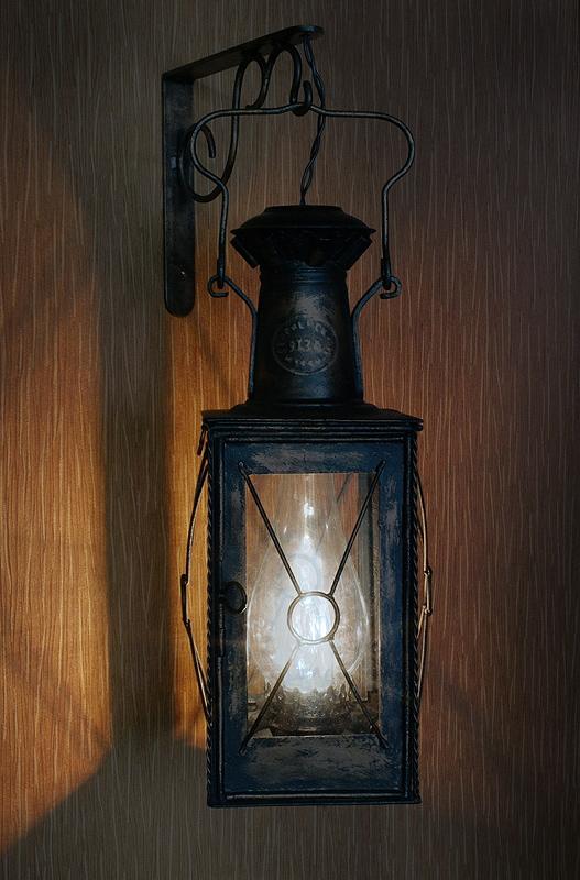 Вторая жизнь старого фонаря