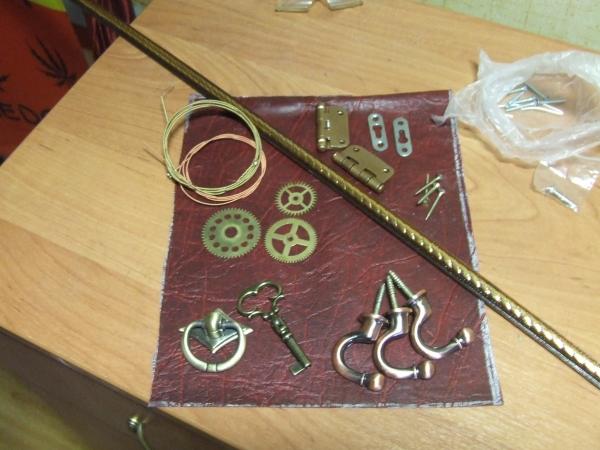 Сундучок для ключей. (Фото 3)