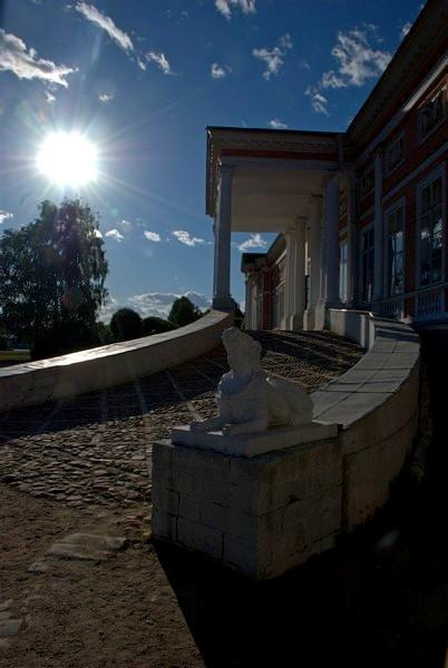 Маленький фотоотчет с прогулки в Кусково