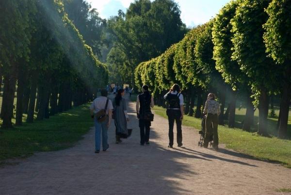 Маленький фотоотчет с прогулки в Кусково (Фото 4)