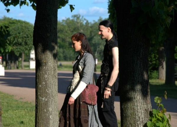 Маленький фотоотчет с прогулки в Кусково (Фото 8)