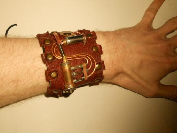 Как из кожи сделать браслет для часов своими руками 30