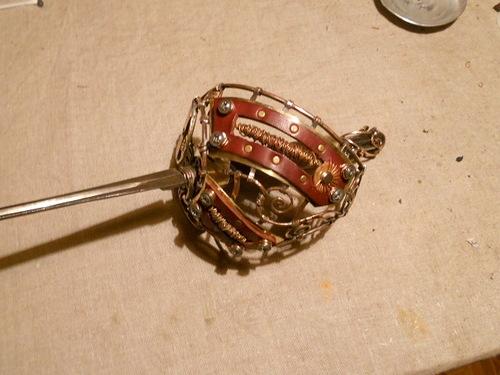 Смертельно изящно, или К красавице и кубку. Переделка шпаги в стиле стимпанк - том второй. (Фото 21)