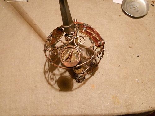 Смертельно изящно, или К красавице и кубку. Переделка шпаги в стиле стимпанк - том второй. (Фото 30)