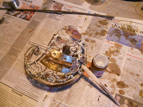 Смертельно изящно, или К красавице и кубку. Переделка шпаги в стиле стимпанк - том второй. (Фото 8)