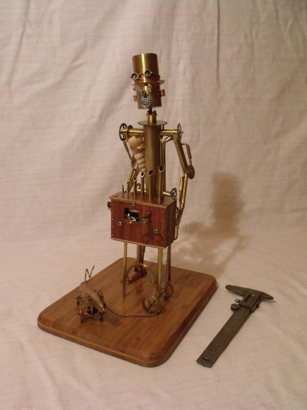 Паровой робот шарманщик