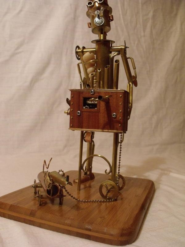 Паровой робот шарманщик (Фото 4)