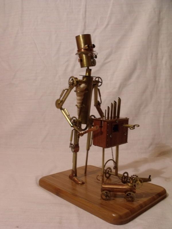 Паровой робот шарманщик (Фото 3)