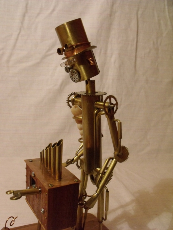 Паровой робот шарманщик (Фото 8)