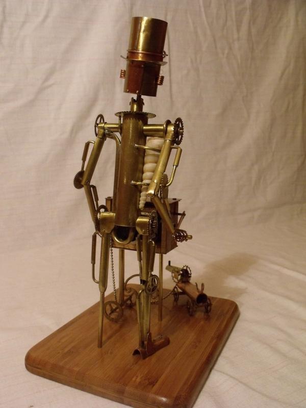 Паровой робот шарманщик (Фото 10)