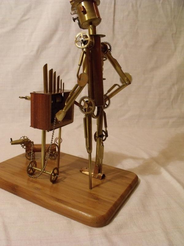 Паровой робот шарманщик (Фото 7)