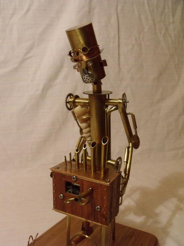 Паровой робот шарманщик (Фото 6)