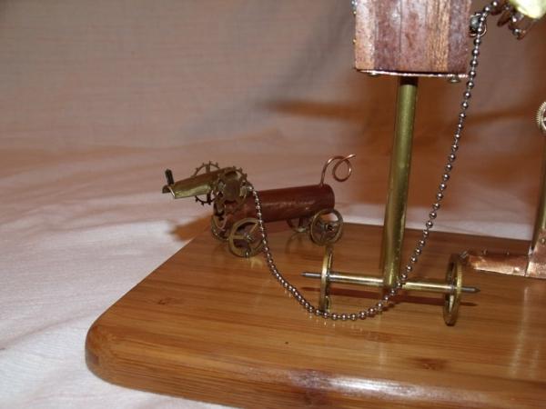 Паровой робот шарманщик (Фото 12)