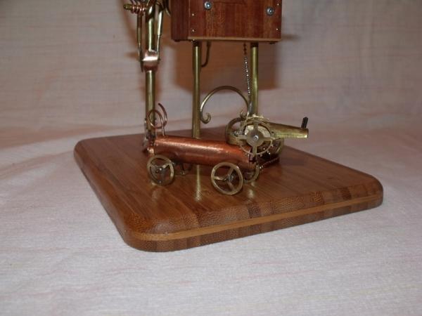 Паровой робот шарманщик (Фото 13)