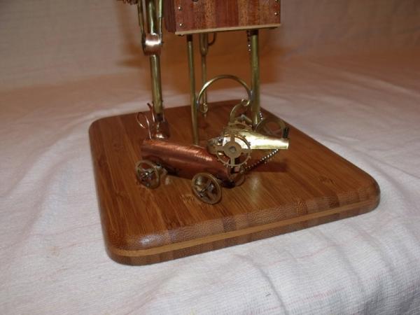 Паровой робот шарманщик (Фото 11)