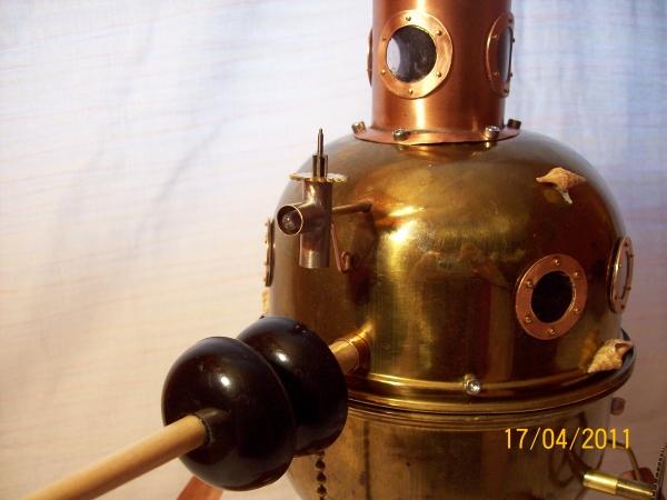 """паровая подводная лодка """"Ужас глубин"""" (Фото 9)"""