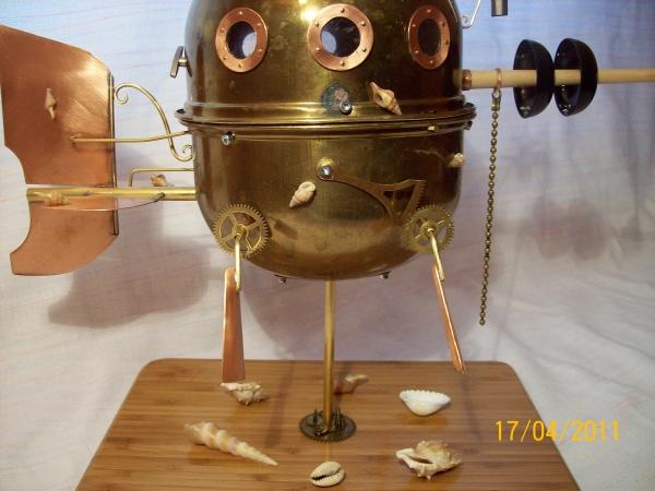 """паровая подводная лодка """"Ужас глубин"""" (Фото 4)"""