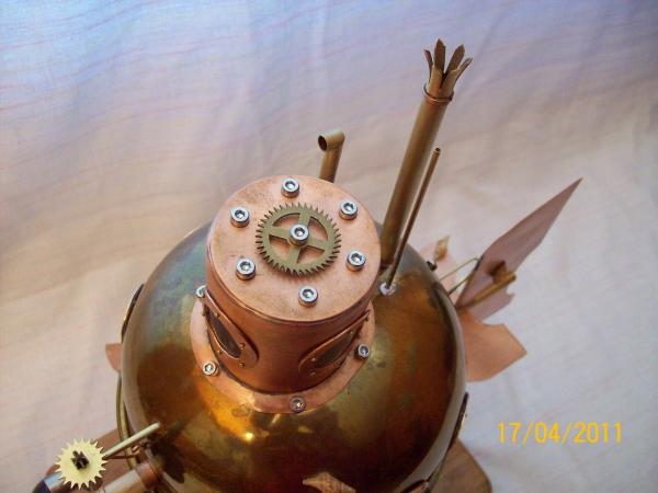"""паровая подводная лодка """"Ужас глубин"""" (Фото 10)"""