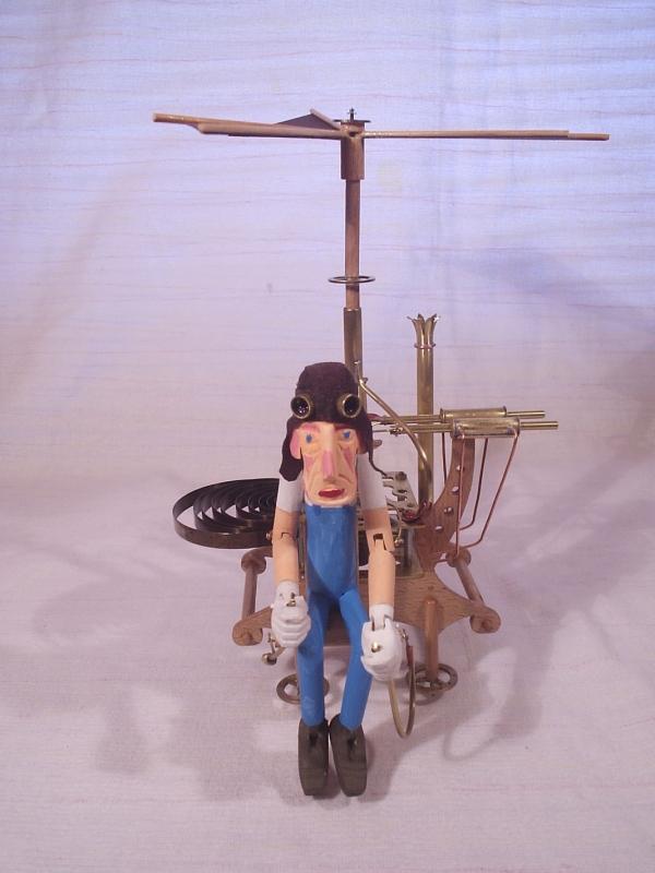 """Паровой вертолёт """"Леонардо"""". (экспериментальная модель. в серию не пошёл) (Фото 7)"""