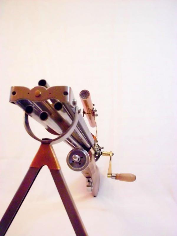 Стимпанк пулемет! Каким он мог бы быть! (Фото 7)