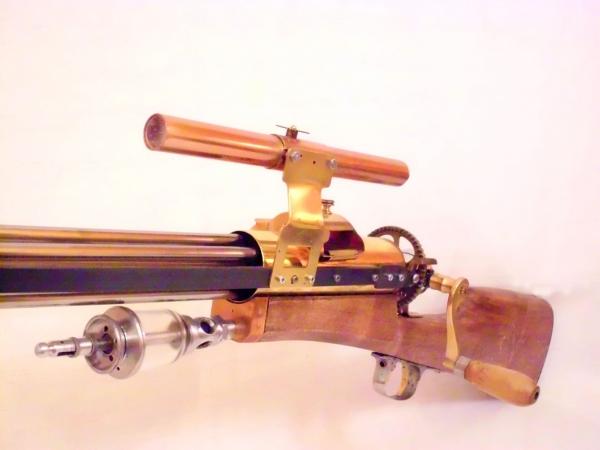 Стимпанк пулемет! Каким он мог бы быть! (Фото 4)