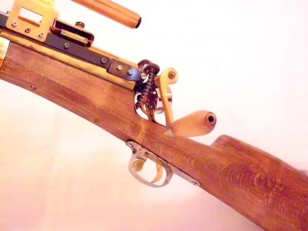 Стимпанк пулемет! Каким он мог бы быть! (Фото 3)
