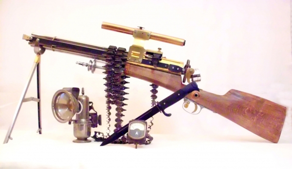 Стимпанк пулемет! Каким он мог бы быть! (Фото 11)