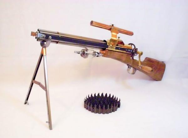 Стимпанк пулемет! Каким он мог бы быть! (Фото 8)