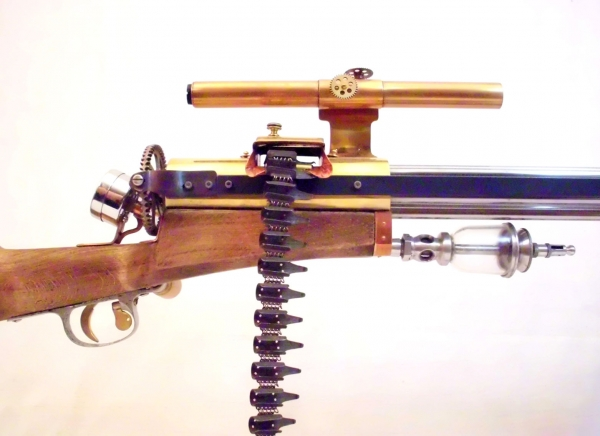 Стимпанк пулемет! Каким он мог бы быть! (Фото 10)