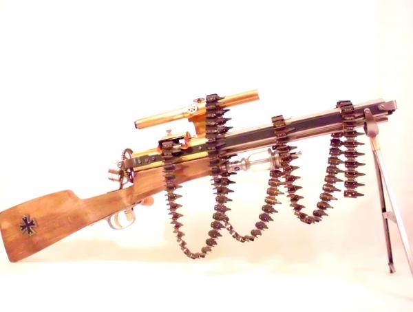Стимпанк пулемет! Каким он мог бы быть! (Фото 9)