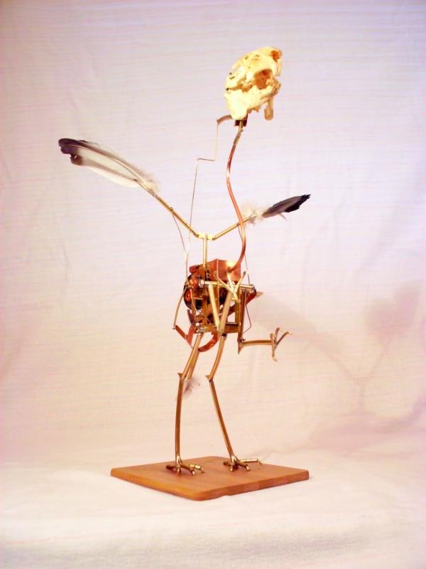 Стимпанк птичка. Археоптерикс. (Фото 2)