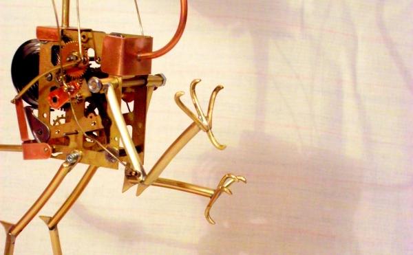 Стимпанк птичка. Археоптерикс. (Фото 9)